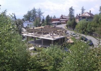stavba v roku 2011