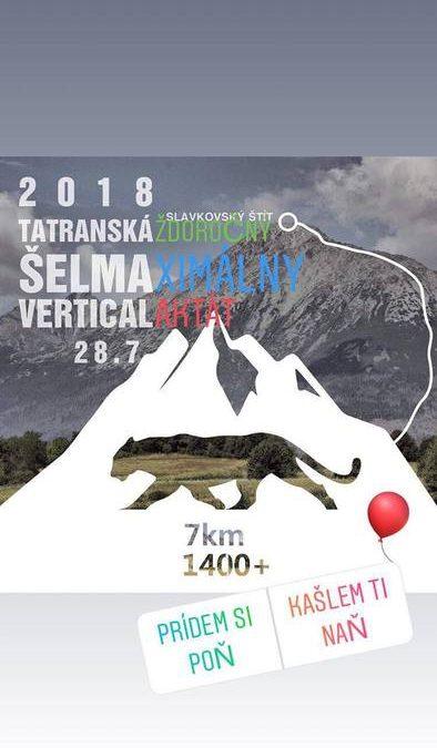 TATRANSKÁ ŠELMA VERTICAL aj tento rok spolu s TATRANSKOU MINERÁLKOU.