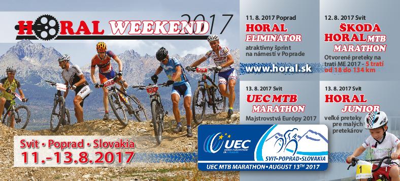 HORAL – Majstrovstvá Európy a najväčšie MTB preteky pod Tatrami