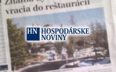 HN: Známa kyselka z Tatier sa vracia do reštaurácií