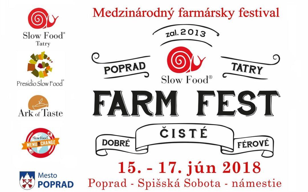 Farmársky festival 15.-17.6.2018 – Poprad – Spišská Sobota