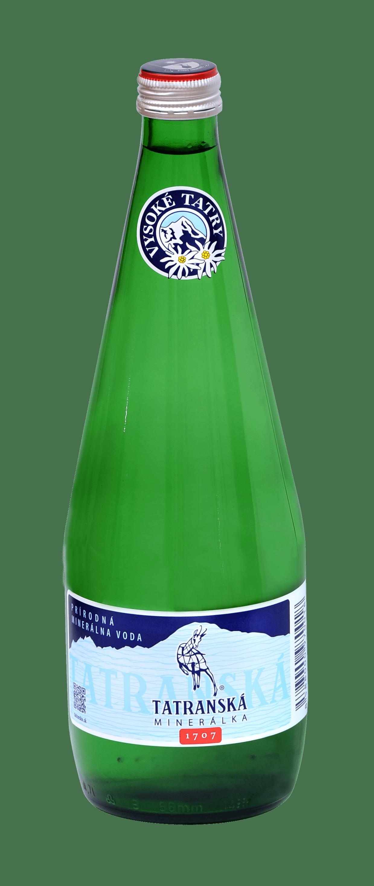 Tatranská minerálka - fľaša