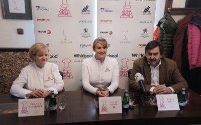 """Projekt Lady Chef – Julia Komp/ 4,                   """"šefkuchárky ocenené Michelinovou hviezdou"""""""